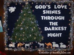 march church bulletin board ideas | Christian Christmas Bulletin Board Ideas