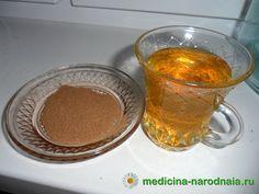 Живительный напиток:смешать корицу с медом и разводить в теплой воде .........