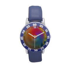 Rainbow Spinner Wrist Watches