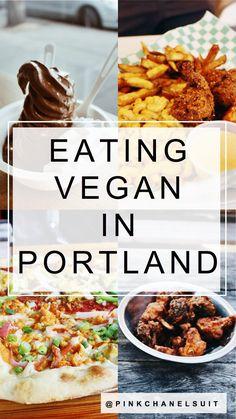 All of the best vegan eats in Portland, Oregon!