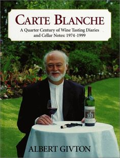 Carte Blanche  A Quarter Century of Wine Tasting Diaries and Cellar Notes 19741999 ** More info could be found at the image url.  This link participates in Amazon Service LLC Associates Program, a program designed to let participant earn advertising fees by advertising and linking to Amazon.com.