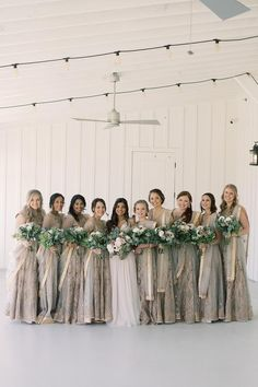 Bridesmaids in taupe dresses Classic Bridesmaids Dresses, Winter Bridesmaid Dresses, Winter Bridesmaids, Beautiful Bridesmaid Dresses, Beautiful Calligraphy, Wedding Moments, California Wedding, Wedding Photography, Photography Ideas