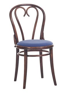 A sweetheart: the Michael Thonet No 16 Bentwood Side Chair by TON