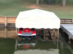 Need to replace your canopy lift cover? Boat Covers Direct has Covertuff replacement canopies and we can get them to you quickly! & Replacement Boat Lift Canopy Covers. Available in Shelter Rite ...