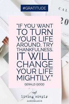 56 Inspiring Motivational Quotes About Gratitude to Be Double Your Happiness 49