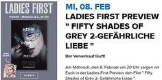 4x Kino Tickets Fifty Shades of Grey 2 Mi 08.2 Ladys Night Cineplex Neckarsulmsparen25.com , sparen25.de , sparen25.info