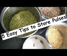 5 Easy Tips to Store Pulses