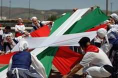Basque dancers.