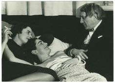 Man Ray: Picasso with Yvonne Zervos and another woman 1930