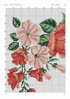 Baby Dress Patterns, Cross Stitch Rose, Prayer Rug, Rose Bouquet, Cross Stitching, Crochet, Jewellery, Ideas, Cross Stitch Flowers