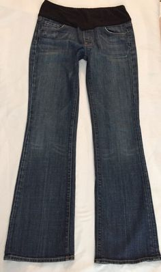 CITIZENS OF HUMANITY KELLY BOOTCUT BELLY PANEL MATERNITY WOMENS JEANS 8 29 #CITIZENSOFHUMANITY #BootCut