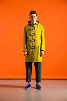 Yellow Coat / Blue Shoes