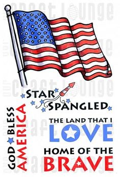 Crafty Clear Stamps - Star Spangled