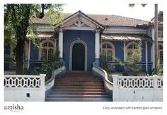 Posts about Portuguese architecture written by artisha India Architecture, Colonial Architecture, Goa India, South India, Exterior Paint Combinations, Front Elevation Designs, Boundary Walls, Indian Homes, House Paint Exterior