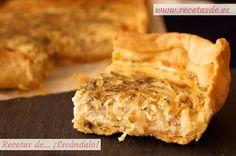 Prepara la mejor y más jugosa quiche alsacienne, una estupenda versión de la quiche lorraine auténtica y tradicional. Prepara la masa quebrada para la base!