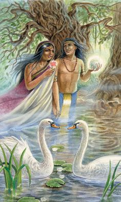 The Lovers - VI ♥♥ In the depths of Divine Love resides the purity of Heaven on Earth...