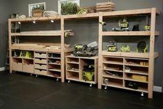 DIY Garage Storage- CLICK PIC for Many Garage Storage Ideas. 82533555 #garage #garageorganization