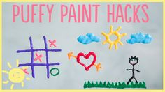 DIY | 3 Puffy Paint Hacks | What's Up Moms!