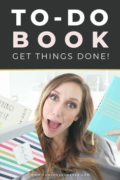 Stop going in circles and forgetting things that you need to get done during your day. Wanna know how? Start using a to-do book and never worry about having to remember to do something important again! It's super easy and a life-changer!