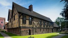 Merchant Adventurers' Hall, York. Built in 1357, this is the least altered surviving Medieval guildhall in Europe. And special to me as I had my wedding reception there.