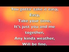 Take It Easy- Stan Walker lyrics
