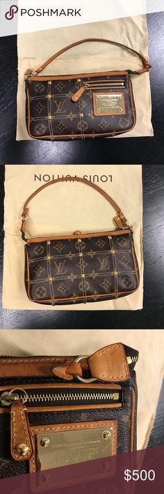 "Louis Vuitton clutch bag Authentic Louis bag clutch 8"" x 5"" x 1.5"".  Date code is CA 0097 Louis Vuitton Bags"