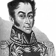 Simón Bolívar nació en Caracas el 24 de julio 1783. Sus padres fueron Juan Vicente Bolívar y María Concepción Palacios. En su niñez fue alumno de los ilustres Simón Rodríguez y Andrés Bello. En 1799, viajó a España para completar su educación.   Estando en el Monte Sacro (15-8-1805) expresó su anhelo de luchar por la libertad de su patria.  Regresando a Venezuela se hizo protagonista de los principales sucesos y batallas por la Independencia de Nueva Granada, a la que bautizó como República…