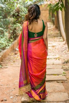 Buy Designer Blouses online, Custom Design Blouses, Ready Made Blouses, Saree Blouse patterns at our online shop House of Blouse from India. Designer Blouses Online, House Of Blouse, Pattu Saree Blouse Designs, Saree Photoshoot, Elegant Saree, Fancy Sarees, Saree Dress, Saree Styles, Indian Designer Wear