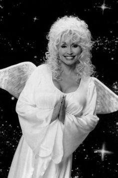 Dolly Parton - unlikely angel?