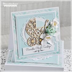 Kids Cards, Baby Cards, Baby Theme, Paper Crafts Origami, Explosion Box, Baby Things, Handmade Cards, Cardmaking, New Baby Products