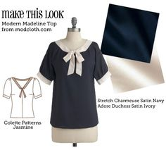 Make This Look: Modern Madeline Top