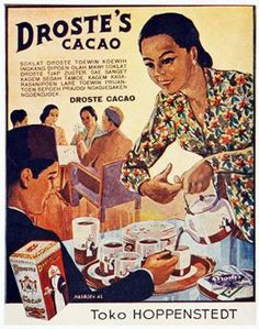 Indonesia ~ vintage poster ~ Droste Cacao