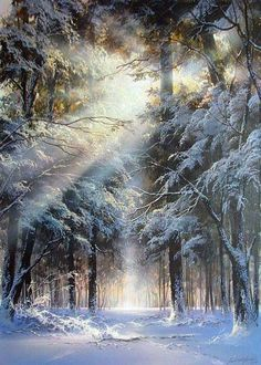 Part 3 …. – Miracles from Nature Winter Landscape, Landscape Art, Landscape Paintings, Winter Pictures, Nature Pictures, Beautiful Pictures, Winter Photography, Nature Photography, Winter Painting