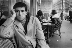 Anthony Perkins in Paris, 1960 - photo by Nicolas Tikhomiroff. Anthony Perkins, Norman Bates, Norman Reedus, Old Hollywood Glam, Classic Hollywood, Tab Hunter, Ivy Style, Best Supporting Actor, War Photography