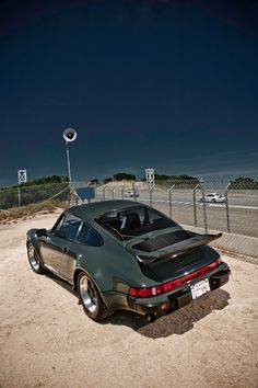 Steve McQueen's Porsche 911 Turbo ... CarProperty.com has houses he owned on it.