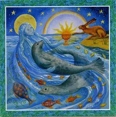 Goddess Festival Card - Summer Solstice
