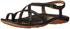 Chaco Dorra Black Ankle Strap Sandal Womens sizes 5-11/NEW!!! #Chaco #AnkleStrap