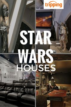 You don't have to live in a galaxy far far away to turn your house into something right out of Star Wars. Jedi, Sith, Ewok, Wookie - everyone can feel at home with this decor! Feel the Force in these amazing properties (real lightsabers not included).