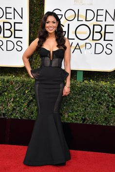 Tracey E. Edmonds - The 2017 Golden Globes Red Carpet Was On Fire