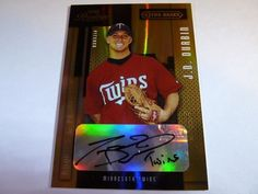 2004 Playoff Prestige JD DURBIN XTRA Bases Green AutoGraph Rookie RC /100 105 #MinnesotaTwins #JDDurbin #baseball #auction