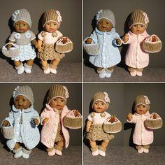 JENNY Heklet antrekk til Baby Born dukken  Design. bebbeshobbykrok  www.ravelry.com/people/bebbeshobbykrok