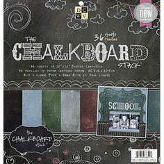 The Chalkboard Stack - Chalkboard Paper