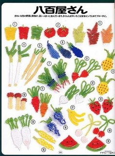 MANUALIDADES CON ABALORIOS..arboles ,flores y mas.... - FIGURAS PLANAS