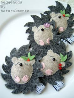 How cute! @Ronda Marie, I think you need to make some of these...