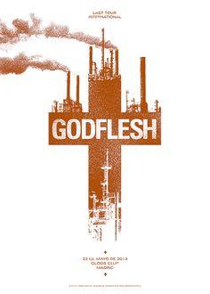 GigPosters.com - Godflesh
