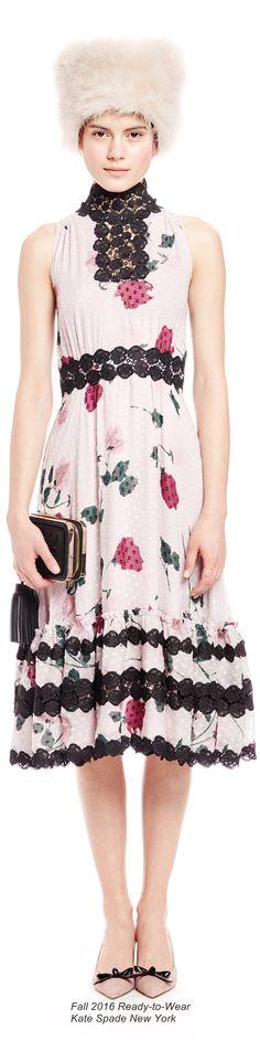 Fall 2016 Ready-to-Wear Kate Spade New York