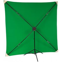 Studio Assets PXB 8x8' System with Chroma Key Green Muslin Kit