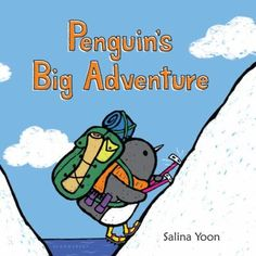 Penguin embarks on his next journey--becoming the first penguin to explore the North Pole! Along the way, he says hello to all of his old friends. But when he finally reaches his destination, he realizes he's all alone in a strange, foreign place. How will Penguin overcome his fears of the unknown and enjoy this new adventure?