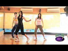 ▶ Zumba - The shuffle and rampwalk - YouTube