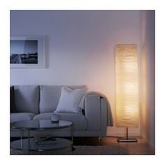 IKEA - MAGNARP, Floor lamp with LED bulb, Gives a soft glowing light, that gives your home a warm and welcoming atmosphere.